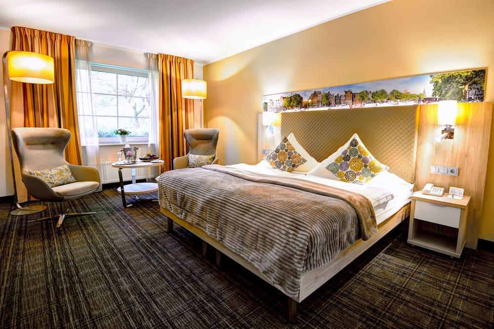 Comfort Double Room, Garden View (Plus) - Living Area