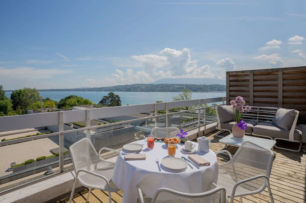 Executive Σουίτα, Θέα στη Λίμνη - Δωμάτιο επισκεπτών