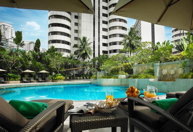 Shangri-La Hotel - Kuala Lumpur, Kuala Lumpur, Horizon Club, Premier Room, 2 Twin Beds, City View
