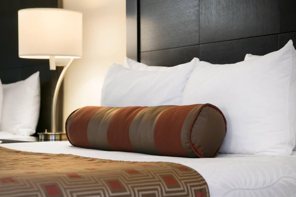 Pokój standardowy, 2 łóżka queen, dla niepalących, lodówka i kuchenka mikrofalowa - Pokój