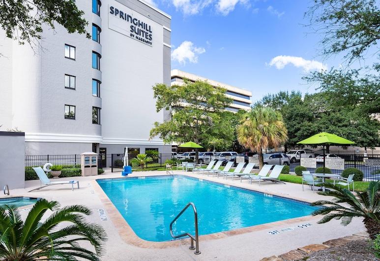 休斯敦醫療中心/NRG 公園春丘套房酒店, 侯斯頓, 室外 SPA 浴池