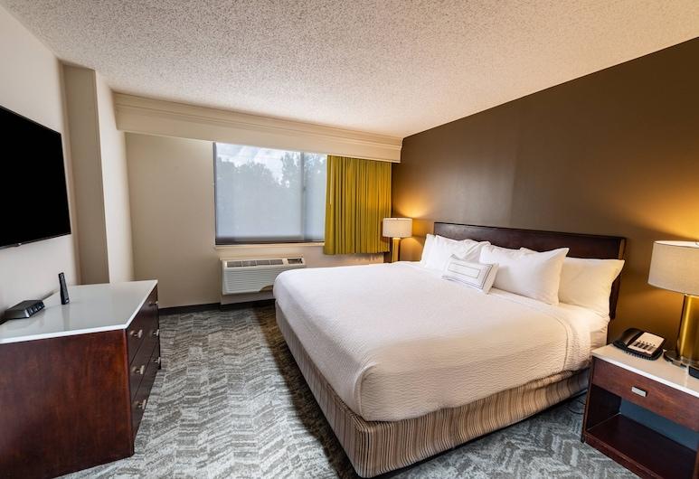 SpringHill Suites Houston Medical Center/NRG Park, Houston, Lakosztály, 1 king (extra méretű) franciaágy és egy kihúzható kanapé, Vendégszoba