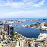 Izba typu Premium, 1 extra veľké dvojlôžko, výhľad na prístav - Výhľad na pláž/oceán