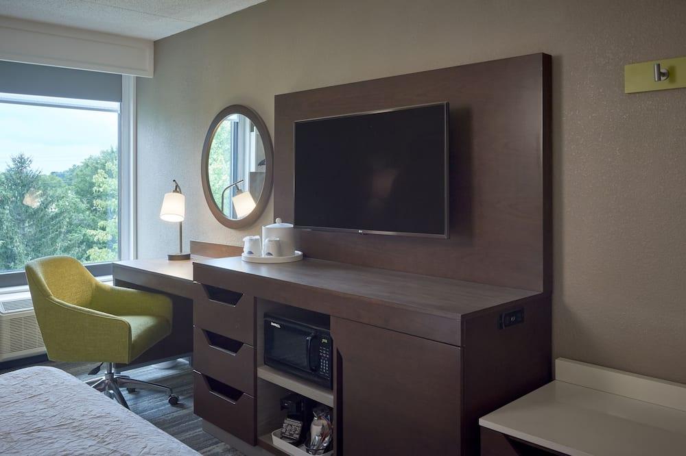 Suite monolocale, 1 letto queen con divano letto, non fumatori - Camera