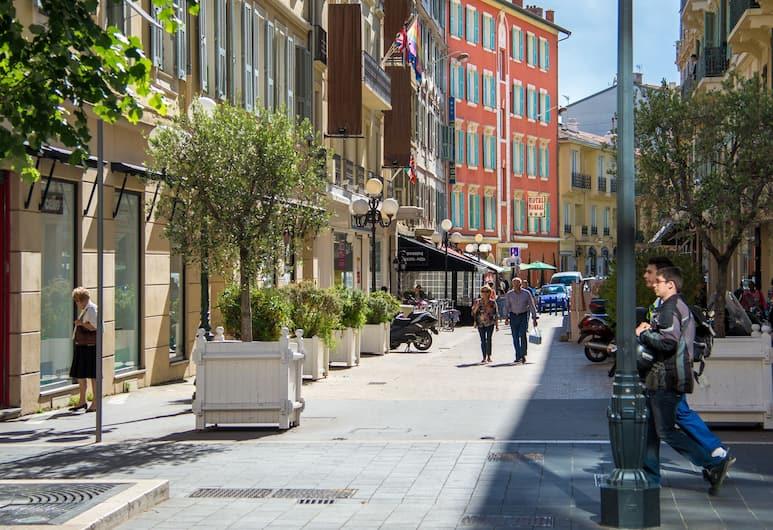 Hotel Boreal, Nizza, Hotelfassade