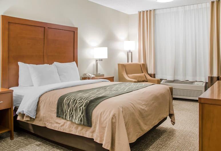 Comfort Inn Idaho Falls, Айдахо-Фолс, Номер, 1 двуспальная кровать «Квин-сайз», для людей с ограниченными возможностями, для некурящих, Номер