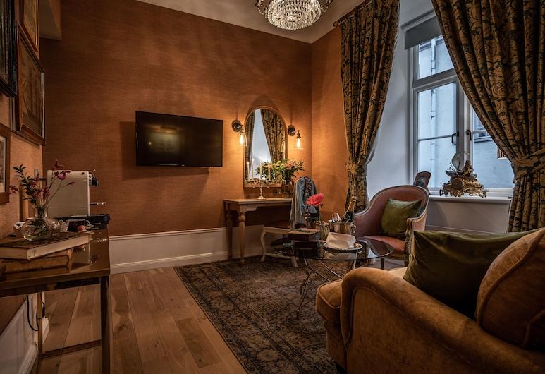 Victory Hotel, Stockholm, Captains Suite - One bedroom , Gjesterom
