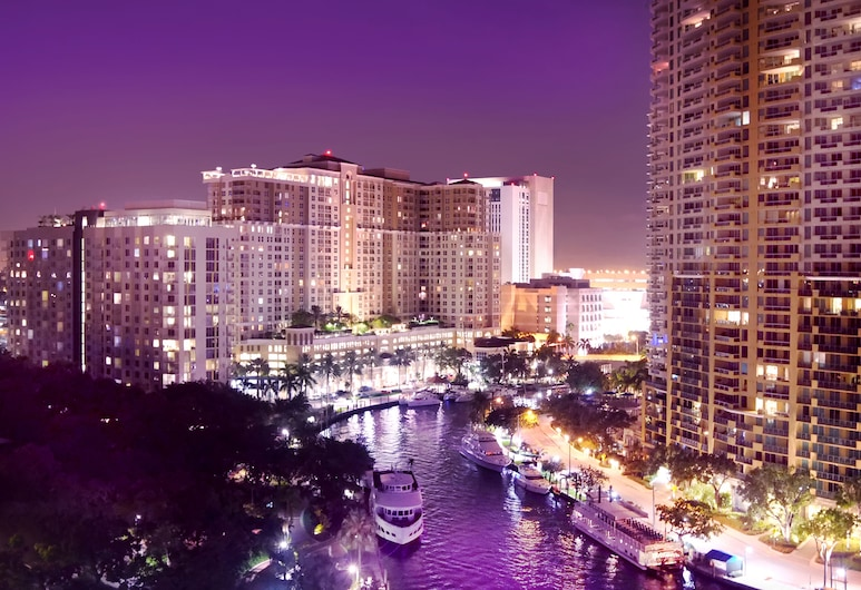Riverside Hotel, Fort Lauderdale, View from Hotel