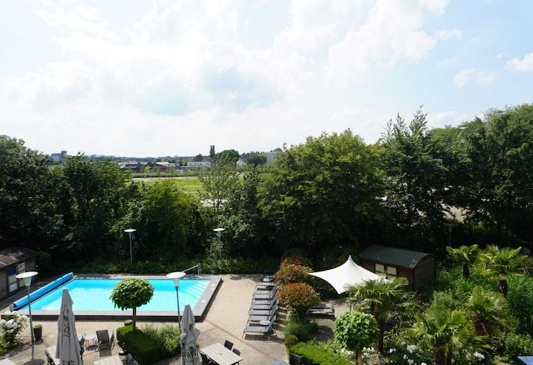 Novotel Maastricht, Maastricht, Chambre Double Standard, 1 lit double, Vue depuis la chambre