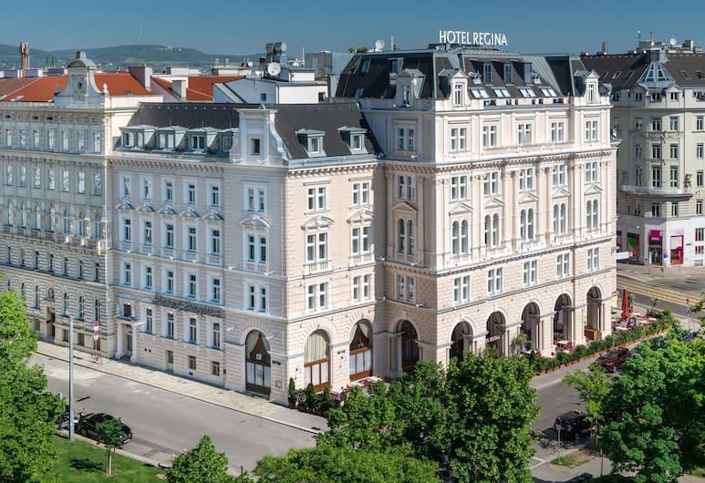 Hotel Regina, Viena, Fachada