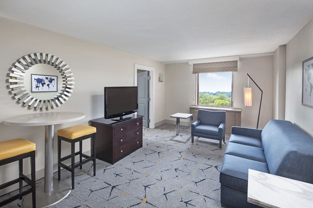 Junior Δωμάτιο, 1 King Κρεβάτι, Μη Καπνιστών - Δωμάτιο επισκεπτών