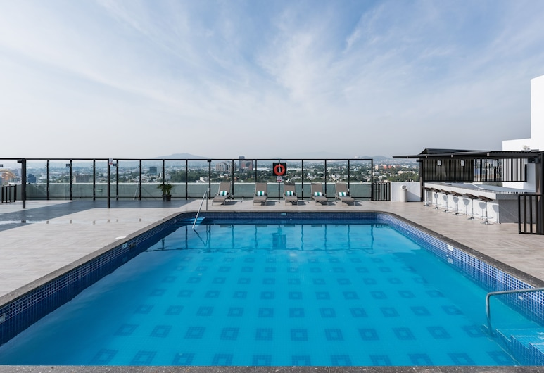 Holiday Inn Select - Guadalajara, Guadalajara, Havuz