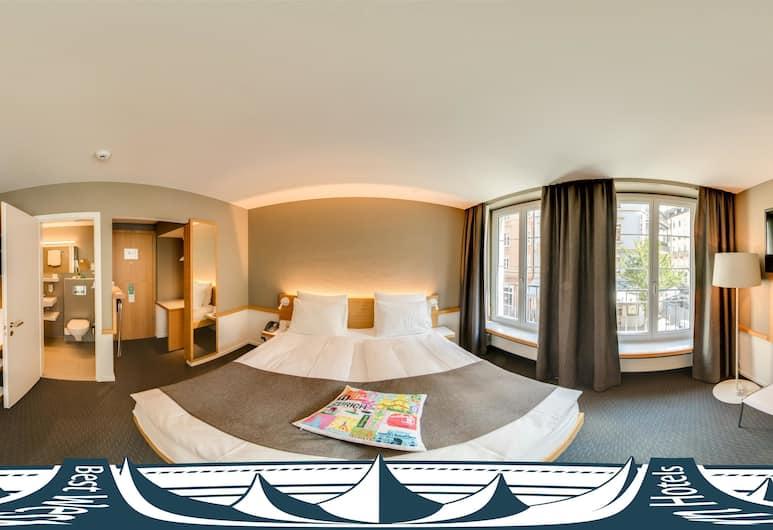 베스트 웨스턴 플러스 호텔 취르헤르호프, 취리히, 스탠다드룸, 싱글침대 2개 (Quiet Location), 객실