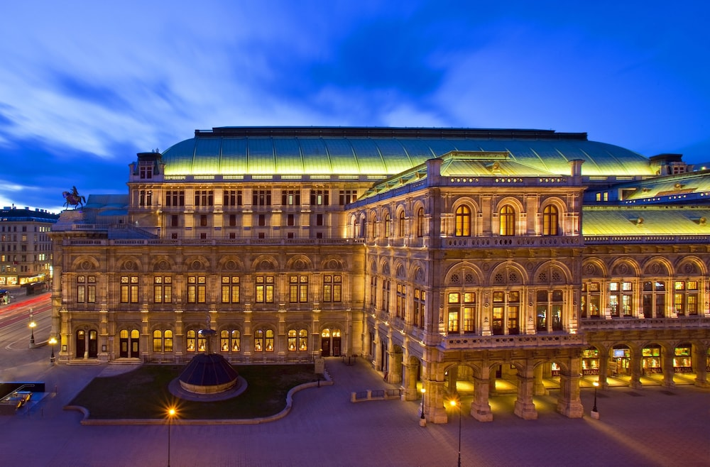Hotel Bristol A Luxury Collection Vienna City View
