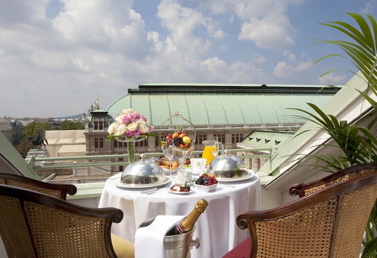 Hotel Bristol, a Luxury Collection Hotel, Vienna, Vienna, Junior Suite, 1 King Bed, Terrace, City View, Terrace/Patio
