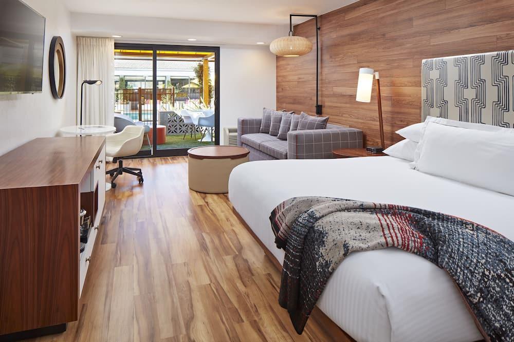 Номер, 1 двуспальная кровать «Кинг-сайз», патио - Номер