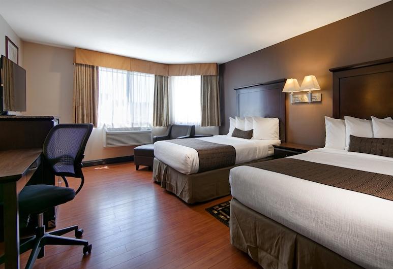 Best Western Plus Dragon Gate Inn, Λος Άντζελες, Standard Δωμάτιο, 2 Queen Κρεβάτια, Πρόσβαση για Άτομα με Αναπηρία, Μη Καπνιστών, Δωμάτιο επισκεπτών