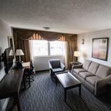 普通套房, 1 張特大雙人床, 非吸煙房 - 客廳