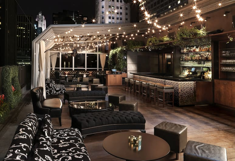 The Kimberly Hotel, New York, Lounge dell'hotel