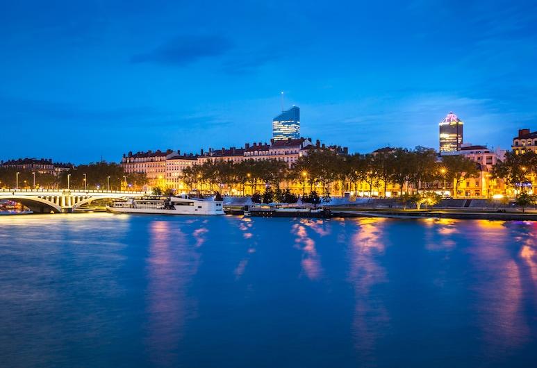 Radisson Blu Hotel Lyon, Lyon, Vue depuis l'hôtel