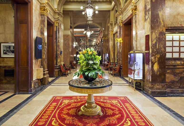 Hotel Metropole, Bruxelles, Interijer – ulaz