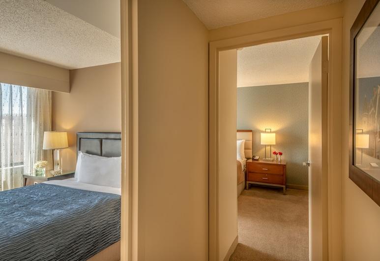 Georgetown Suites Courtyard, Washington, Lakosztály, 2 hálószobával, két fürdőszobával (1 King Bed & 1 Double Bed), Szoba