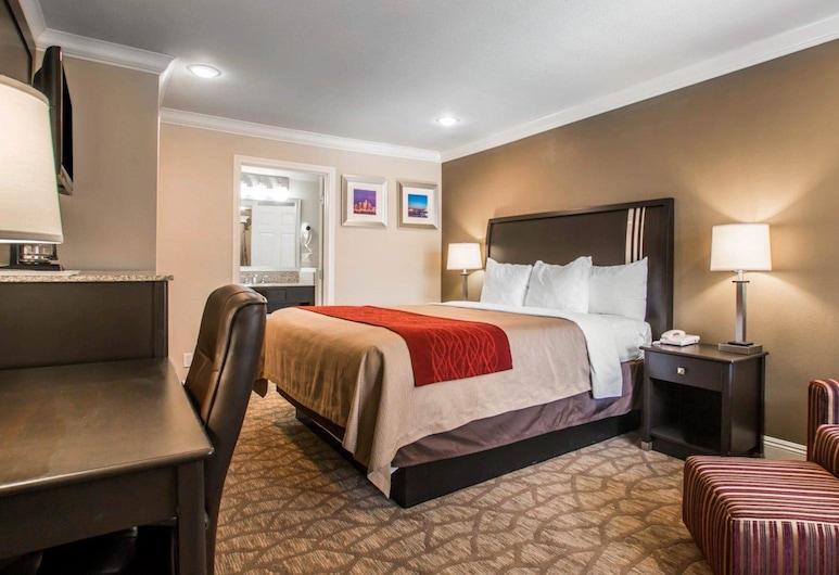 Quality Inn Downey, Downey, Quarto Standard, 1 cama king-size, Quarto