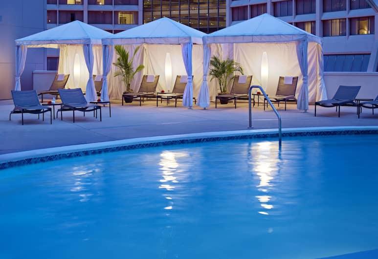 Atlanta Marriott Marquis, Atlanta, Outdoor Pool