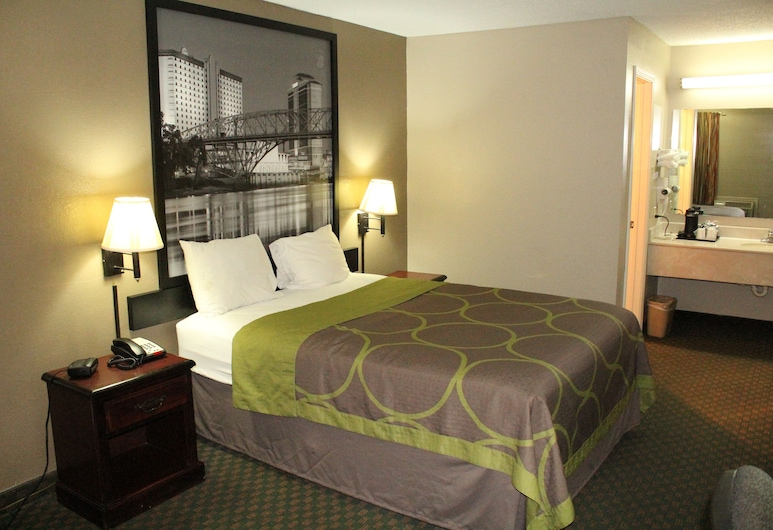 Super 8 by Wyndham Bossier City/Shreveport Area, Bossier City, Standard Room, 1 Queen Bed, Non Smoking, Guest Room