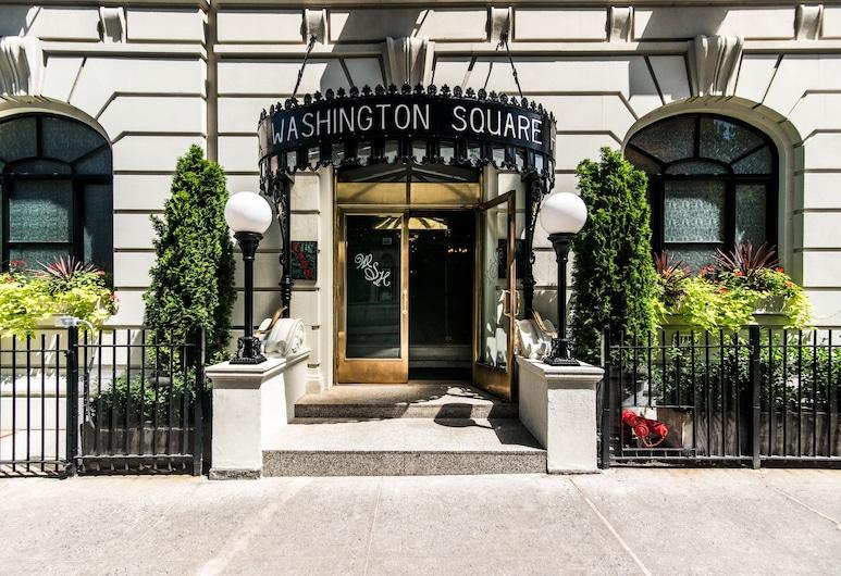 Washington Square Hotel, Νέα Υόρκη, Είσοδος ξενοδοχείου