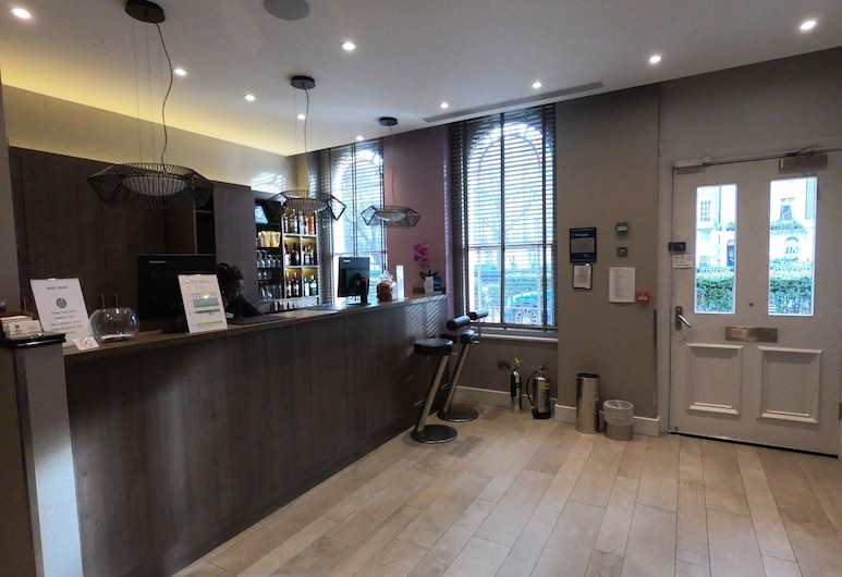 Best Western Plus Delmere Hotel, London, Rezeption