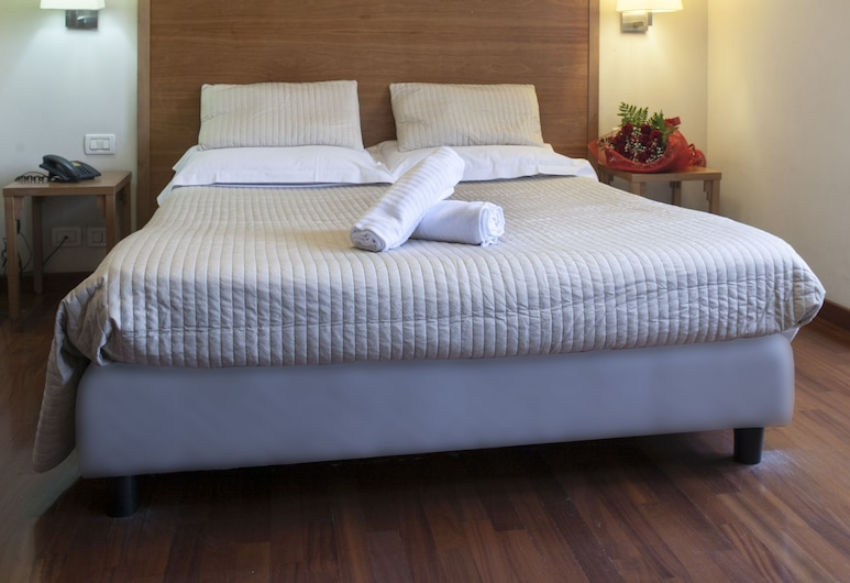 Hotel Terminal, Rome, Double Room, Guest Room