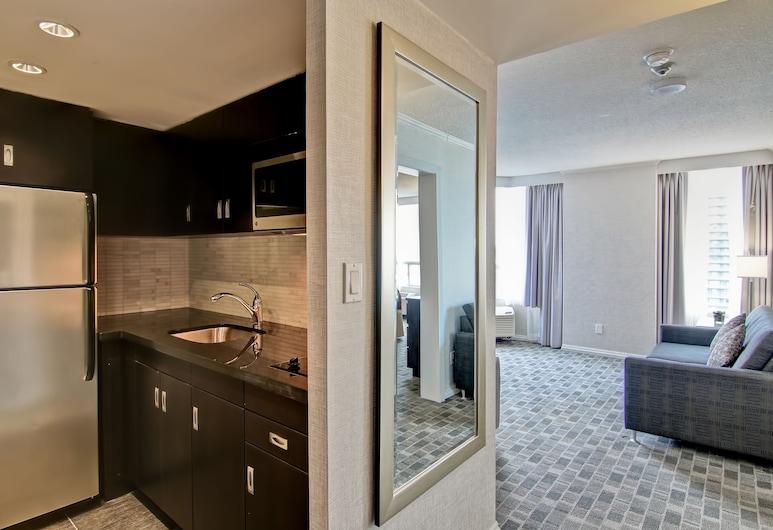 多倫多市中心逸林酒店, 多倫多, 豪華套房, 1 張特大雙人床, 客房