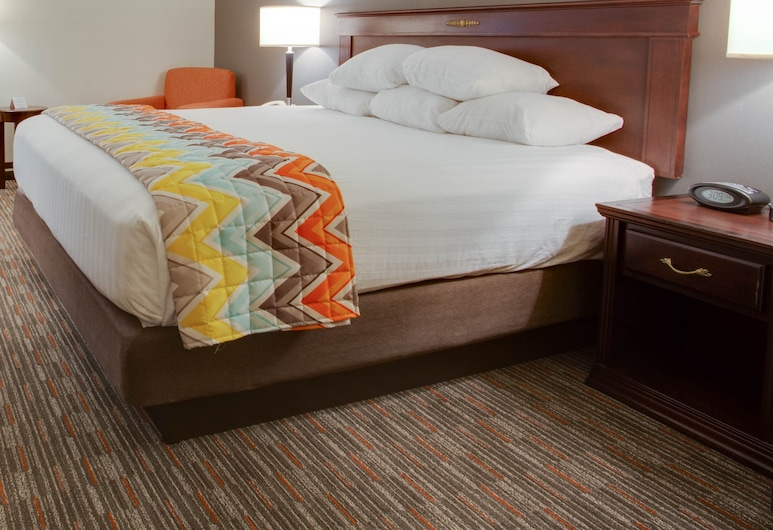 Pear Tree Inn Paducah, פדוקה, חדר דה-לוקס, מיטת קינג (1st Floor), חדר אורחים