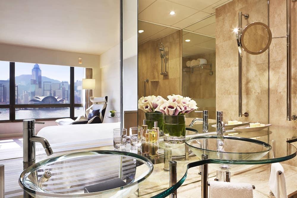 Suite, 1 king size krevet, za nepušače, kut zgrade - Kupaonica