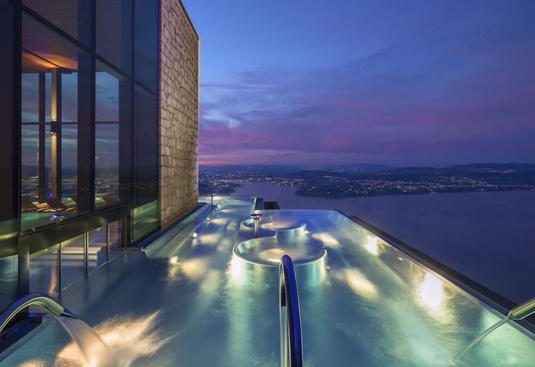Bürgenstock Hotels & Resort - Bürgenstock Hotel & Alpine Spa, אנטבורגן, בריכה אינסוף