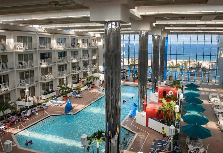 Princess Royale Oceanfront Hotel & Resort , Ocean City, Suite, 1 King Bed, Pool View, Guest Room View