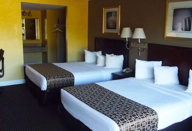Ambassadors Inn & Suites, Virginia Beach, Room, 2 Queen Beds, Non Smoking, Guest Room