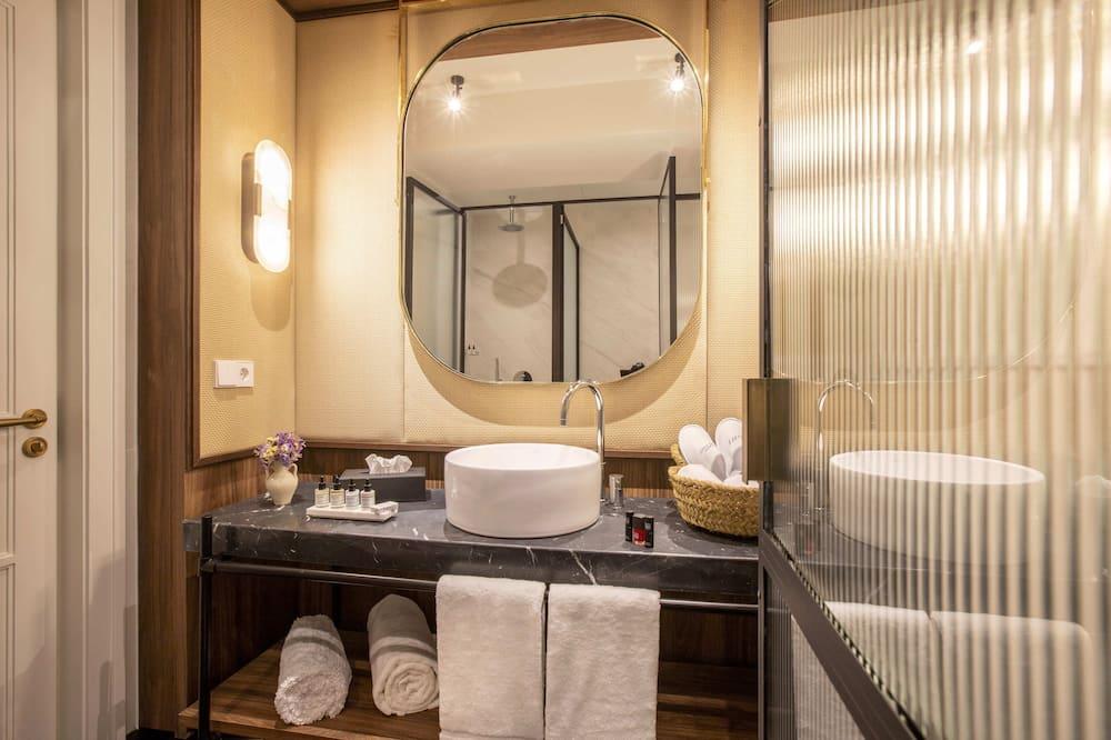 Phòng Premium, 1 giường cỡ king - Phòng tắm