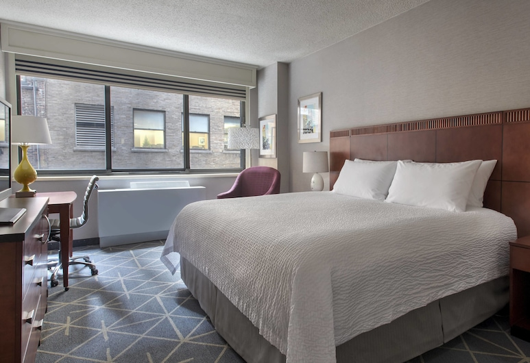 Courtyard by Marriott New York City Manhattan Fifth Avenue, ניו יורק, חדר, מיטת קינג, ללא עישון, חדר אורחים