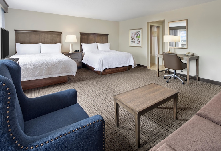 Hampton Inn & Suites Alexandria Old Town Area South, Alexandrie, Studiové apartmá, Pokoj