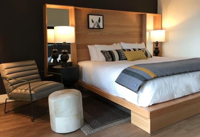 Continuum, Teton Village, Štandardná izba, 1 extra veľké dvojlôžko, Hosťovská izba