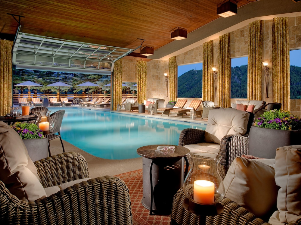 The Lodge At Jackson Hole Indoor Outdoor Pool