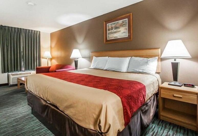 Econo Lodge Inn & Suites, Jackson, Pokój standardowy, Łóżko king, dla niepalących, Pokój
