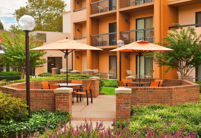 Courtyard by Marriott Baltimore BWI Airport, Linthicum Heights, Terasa