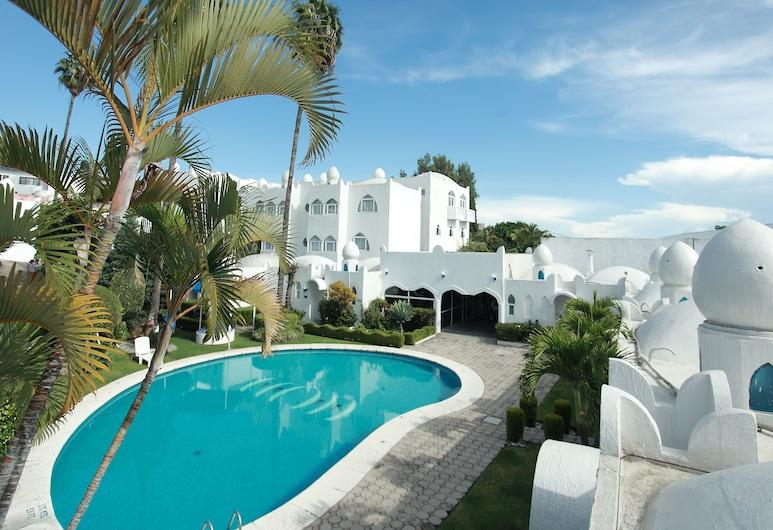 庫埃納瓦卡飯店, 庫埃納瓦卡, 室外游泳池