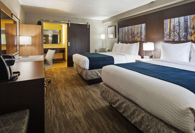 Best Western Atlanta-Marietta Ballpark Hotel, Marietta, Standard Room, 2 Queen Beds, Non Smoking, Refrigerator & Microwave, Guest Room