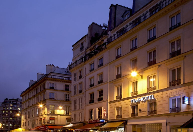 Timhotel Le Louvre, Pariis, Fassaad