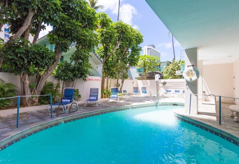 Ilima Hotel, Honolulu, Pool
