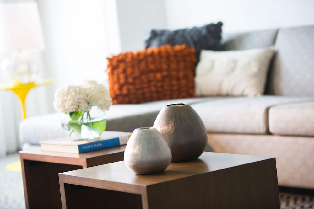 Apartmán typu Executive, 1 spálňa, nefajčiarska izba, čiastočný výhľad na oceán - Obývacie priestory